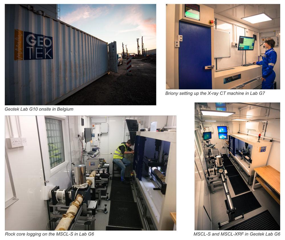 Geotek Services Collage