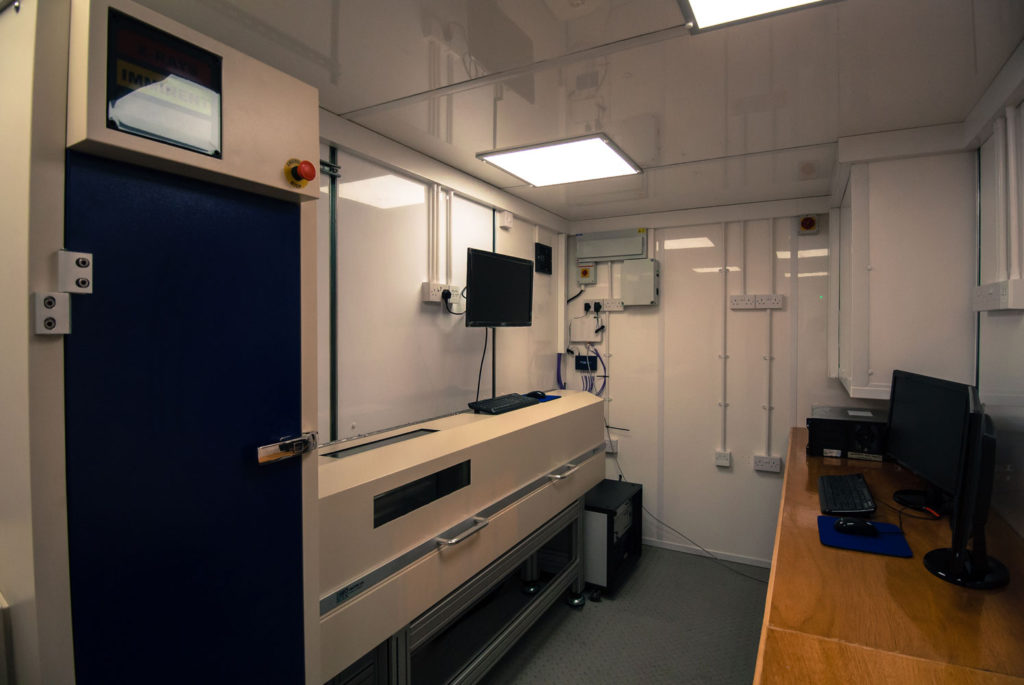 MSCL XCT in Mobile Laboratory