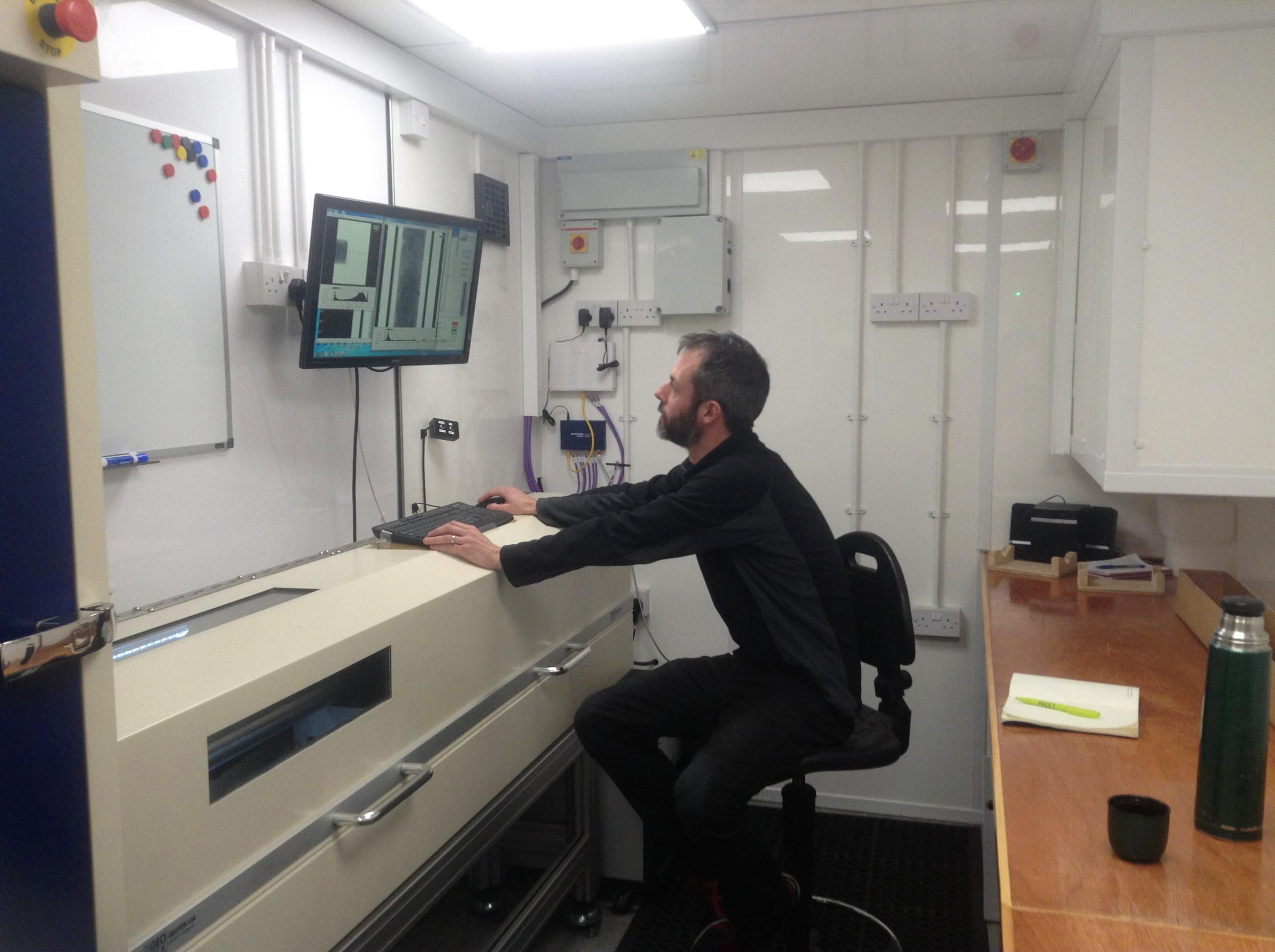 Tom Bradwell at Geotek
