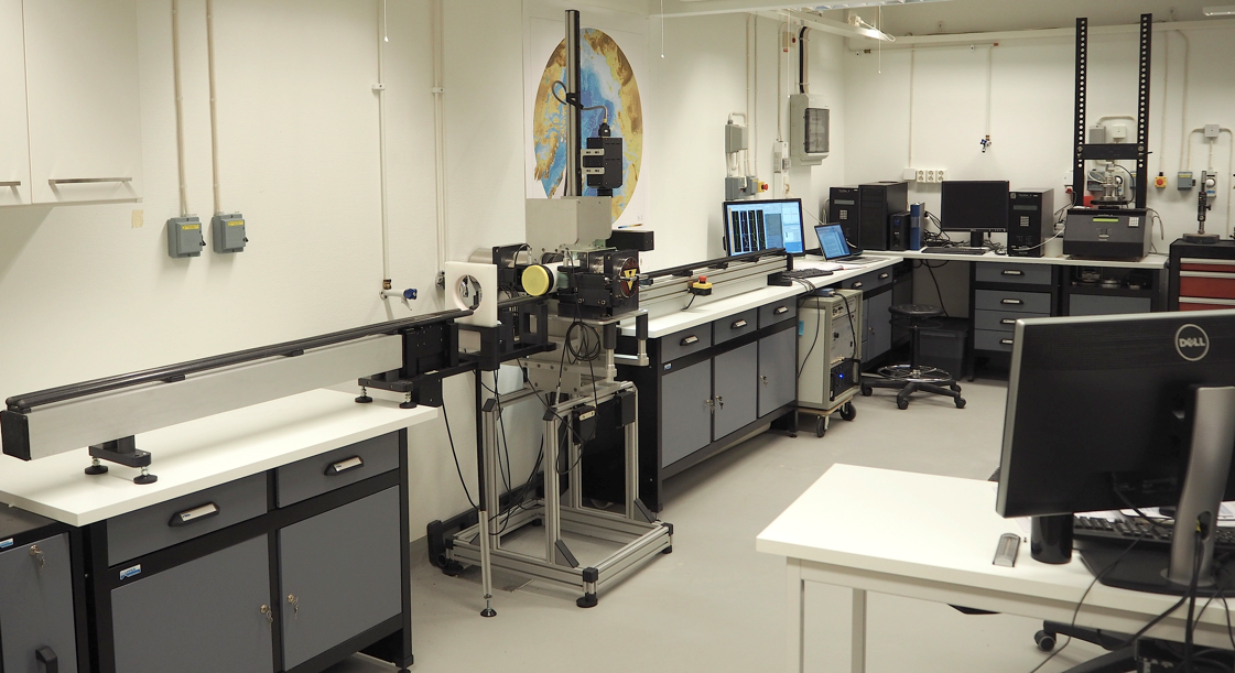 Figure 3. The MSCL-S system installed in the laboratory at the Department of Geological Sciences, Stockholm University.