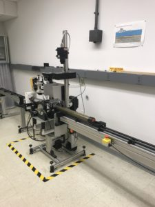 Geotek MSCL-S in the FBGC Laboratory
